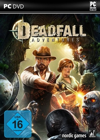 Deadfall Adventures Deutsche  Texte, Untertitel, Menüs, Videos, Stimmen / Sprachausgabe Cover
