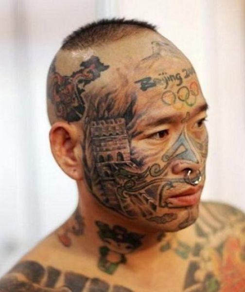 Ekstremalne tatuaże 27