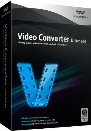 Wondershare Video Converter Ultimate 8.5