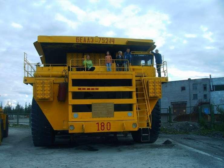 Największe ciężarówki świata 9