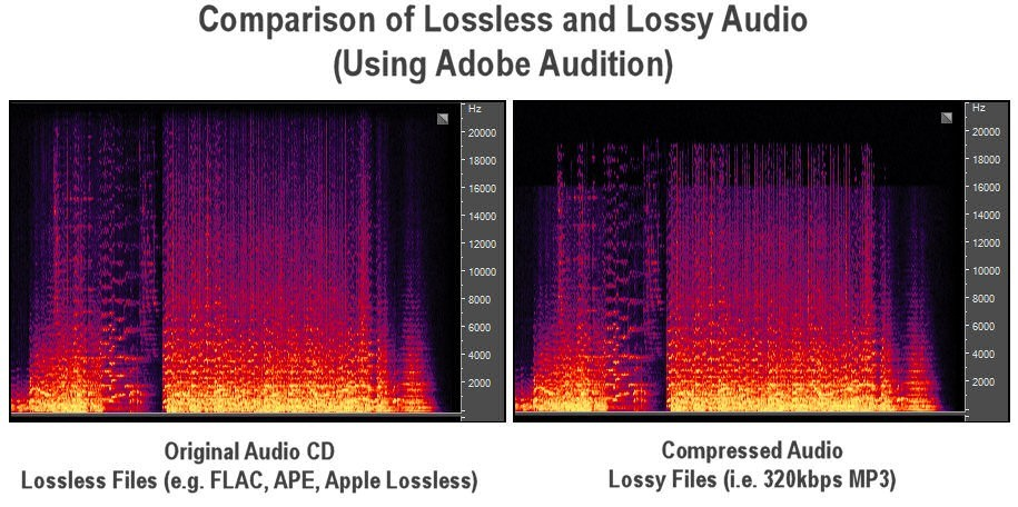 Advantages of lossless audio compression