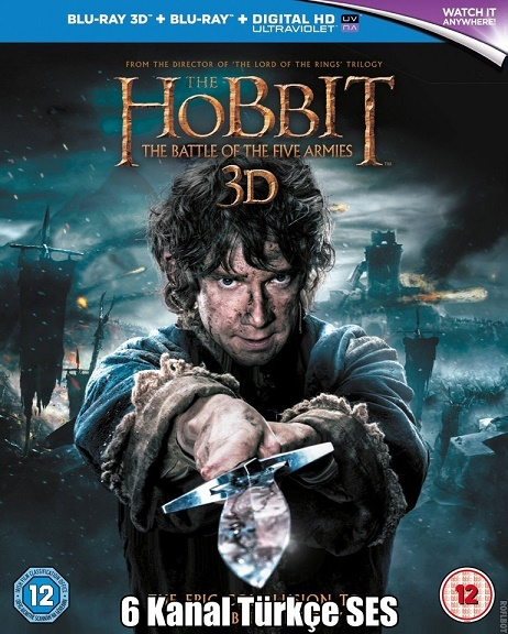 Hobbit: Beş Ordunun Savaşı tek link film indir