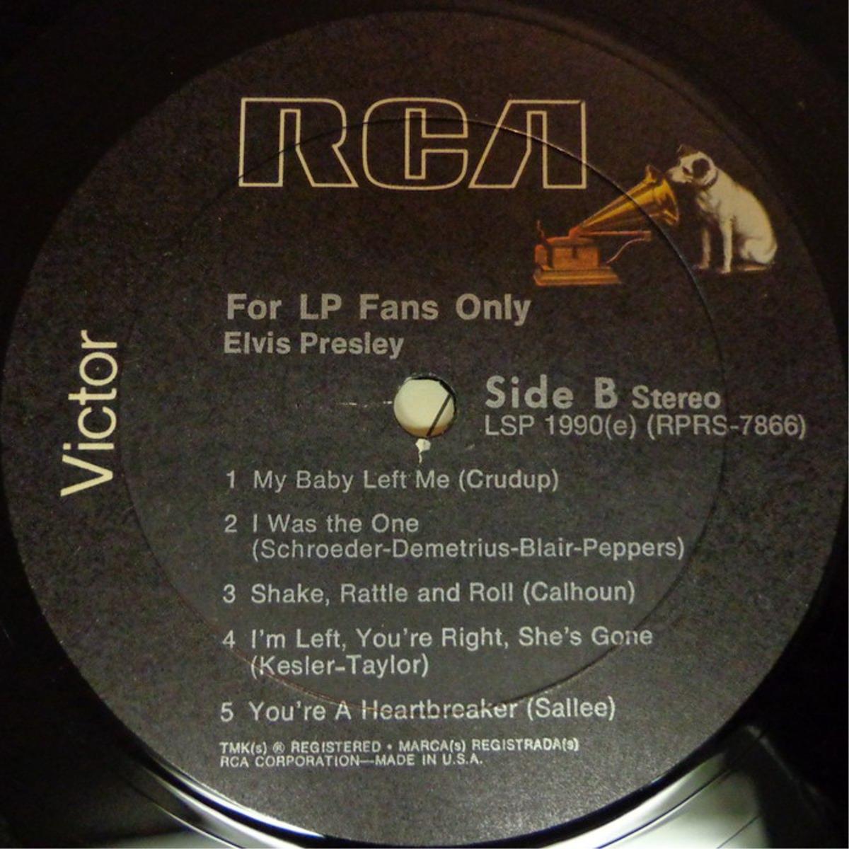 FOR LP FANS ONLY Lsp-1990d6gsga