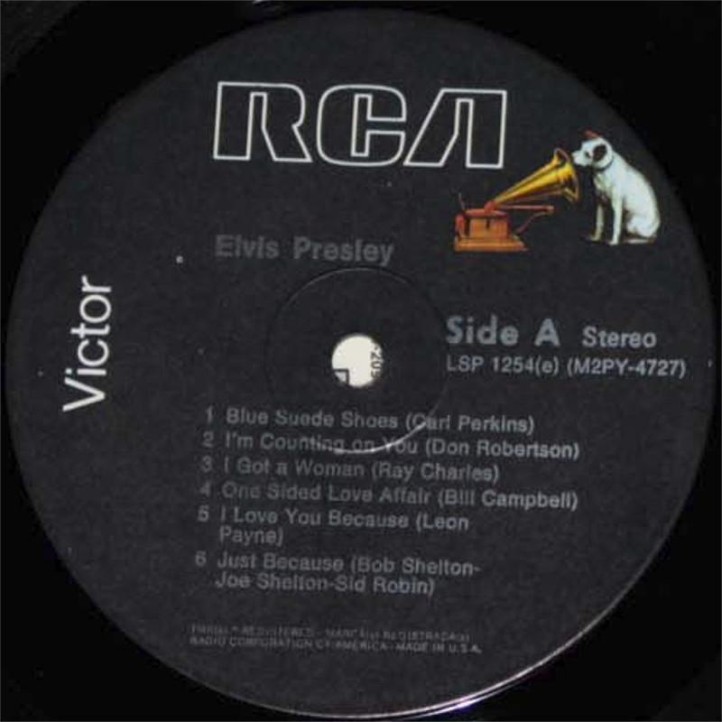ELVIS PRESLEY Lsp1254eqgj3l