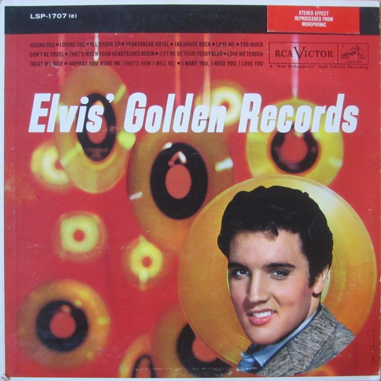ELVIS' GOLD RECORDS  Lsp1707aqjzlr