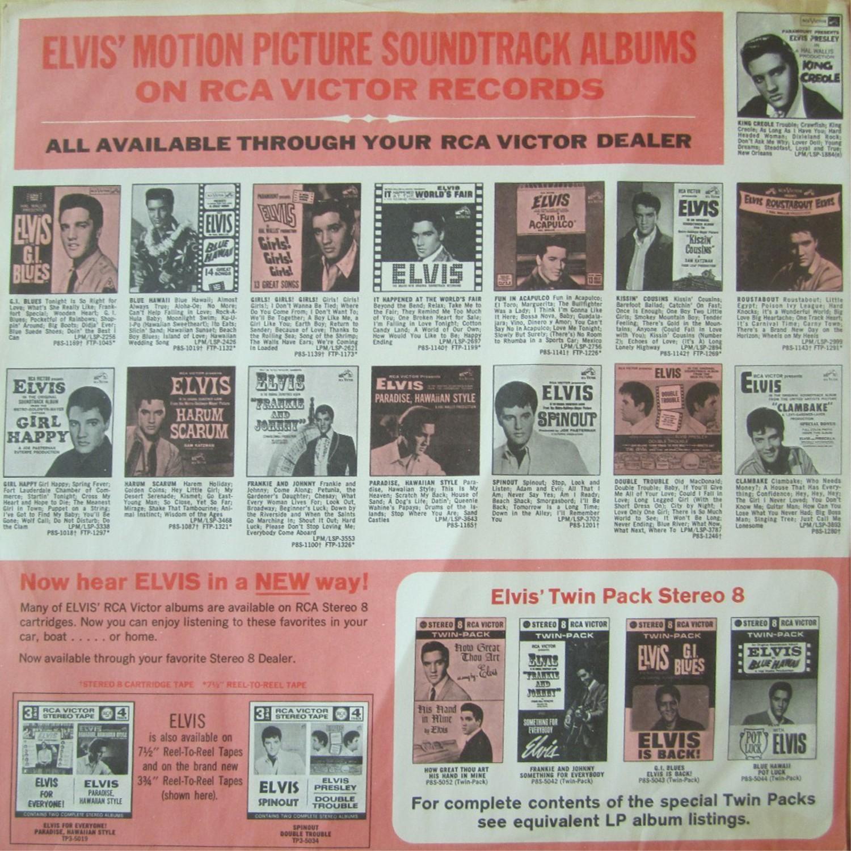 ELVIS' GOLD RECORDS  Lsp1707fnuzci