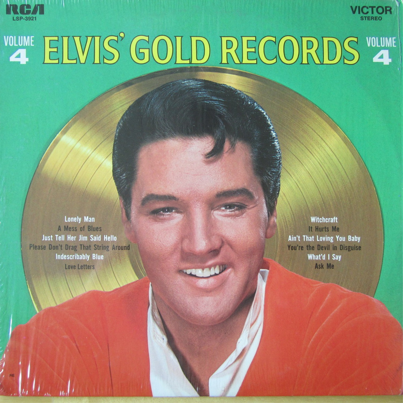 ELVIS' GOLD RECORDS VOL 4 Lsp3921audun1