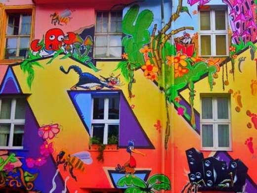 Kreatywne graffiti 8