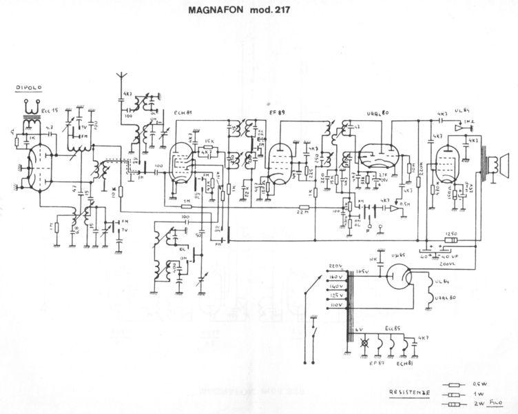 Dampfradioforum • Thema anzeigen - Gefährliches Radio Magnafon ...