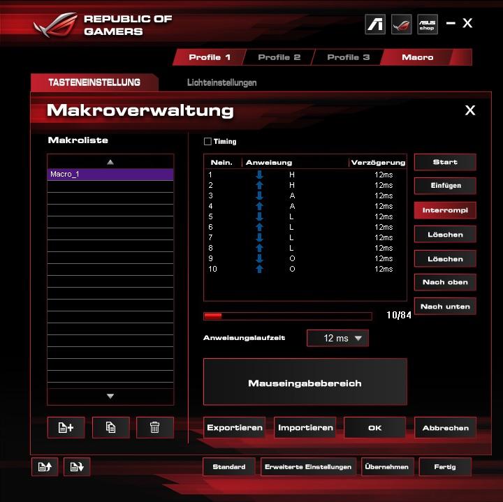 makro2exf4 - Asus ROG GX860 Buzzard - Raubvogelmaus oder LED-Brathähnchen
