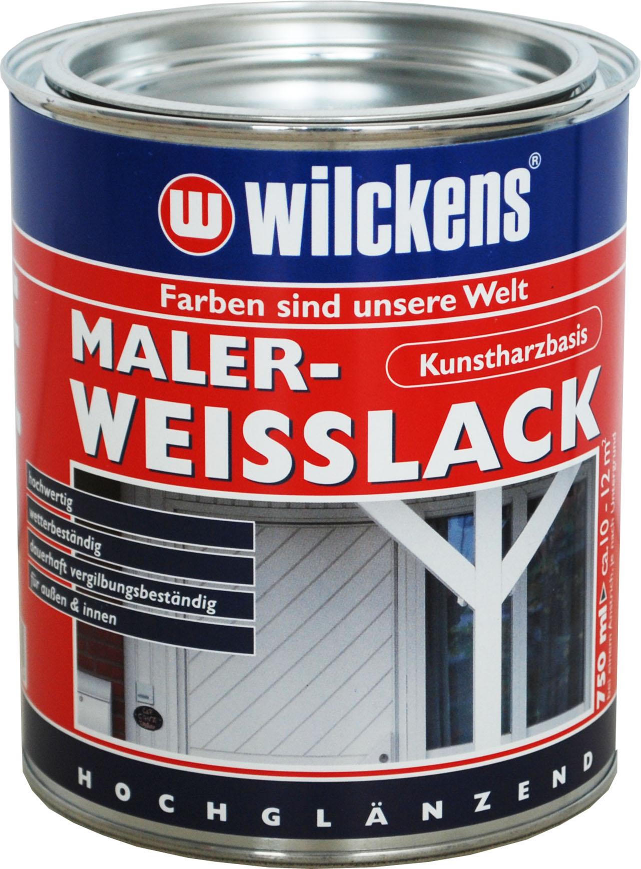 maler weisslack kunstharz m bellack 14 65 l holzlack wei holz lack malerwei ebay. Black Bedroom Furniture Sets. Home Design Ideas