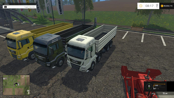 MAN 8X8 TIPPER v1.0