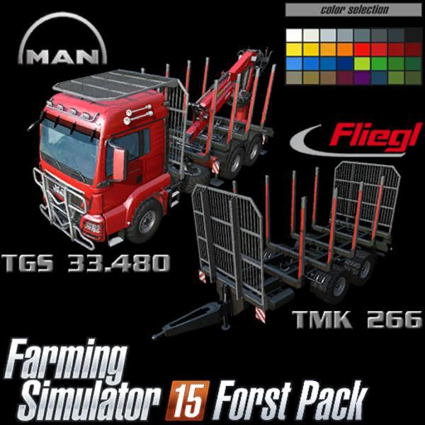 MAN TGS Forest Pack v0.99 beta