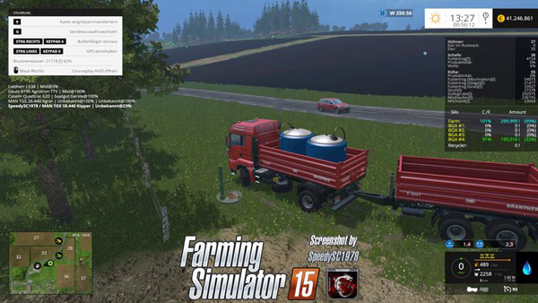 MAN TGS Tipp with Trailer v1.0