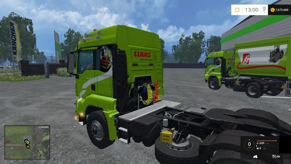 MAN TGS v1.0 Claas Edition