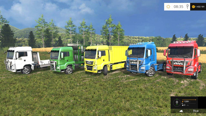 Man Trucks Pack v 1.0