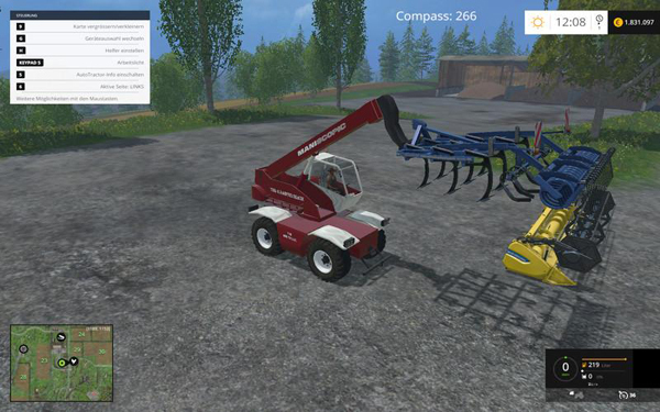 Manitou 1542 TSR Set v1.0 clean