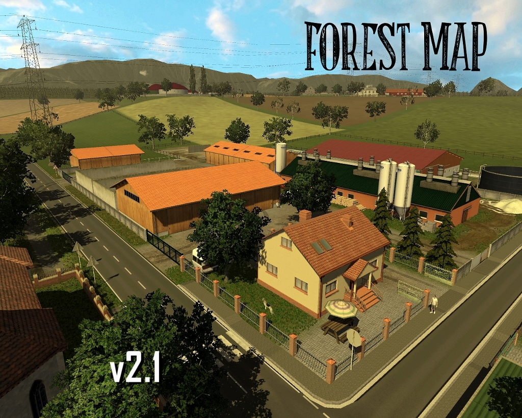 Forest Map v2.1 mod sieczki