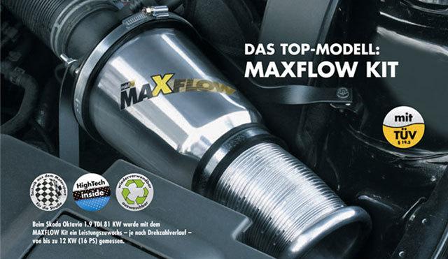 Umbau offener Lüftfilter & Vergaserbedüsung Maxflow-mitresonanz-a61pot