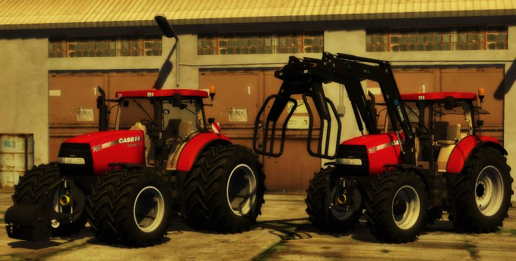 Case Maxxum 140 Fixed Pack