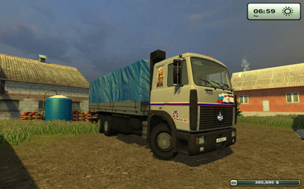Farming Simulator 2013 Mods Maz-6303-and-traileri3sam