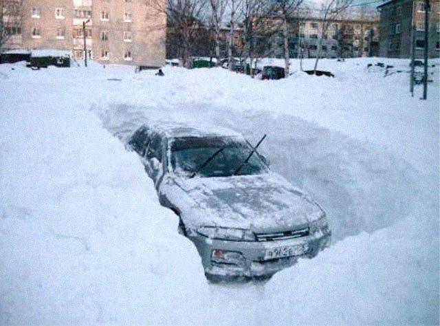 Kierowcy kontra zima 33