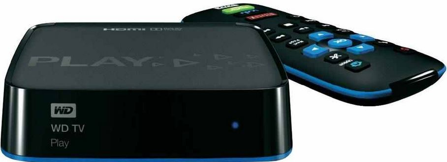 mein deal9mu01 WD TV Play   HD Streaming Media Player (HDMI, WiFi, MPEG4, USB) für 28€