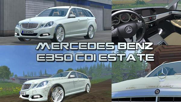 Mercedes E class v1.1