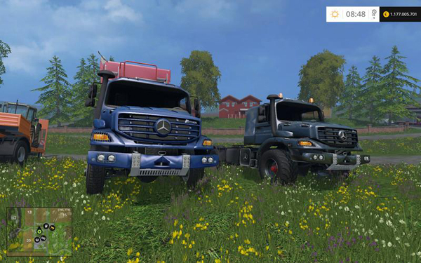 Mercedes Zetros Trucks v2.0