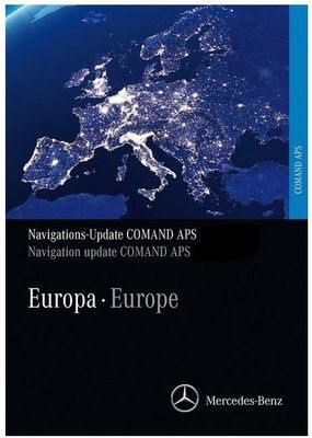 download Mercedes Benz Navigations DVD COMMAND APS NTG3 V16 Europe 2017-2018