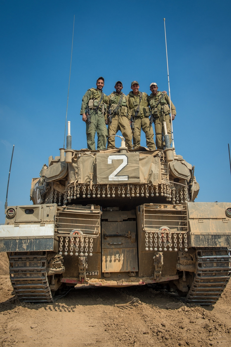 the merkava i tank the first completely armored israeli vehicle began its active service in the idf today the merkava is a key factor in the