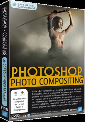 Grafica Digital Foto n.85 - Video Corso Photoshop Avanzato Photo Compositing - ITA