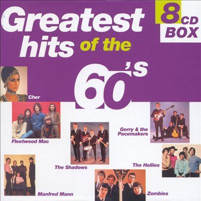 Greatest Hits Of The 60's [8 Cd Box](2004).Mp3 - 320Kbps