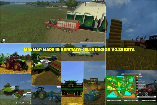 MIG Map Made in Germany Celle Region v0.89 Beta