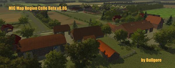 MIG Map MadeinGermany Celle Region v 0.86 Beta byBullgore