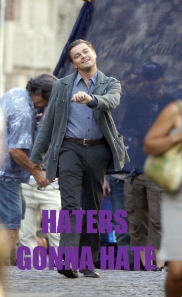 Szczęśliwy Leonardo DiCaprio 10