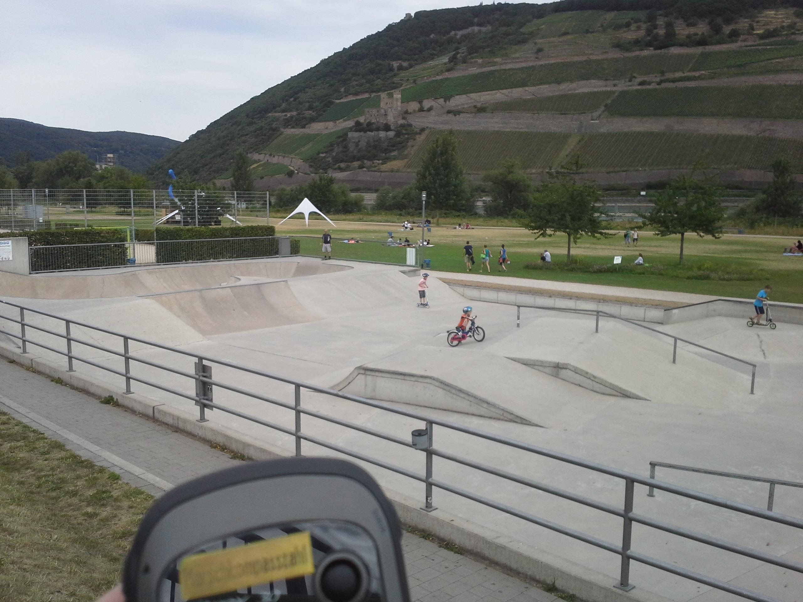 Skateanlage BIN 1