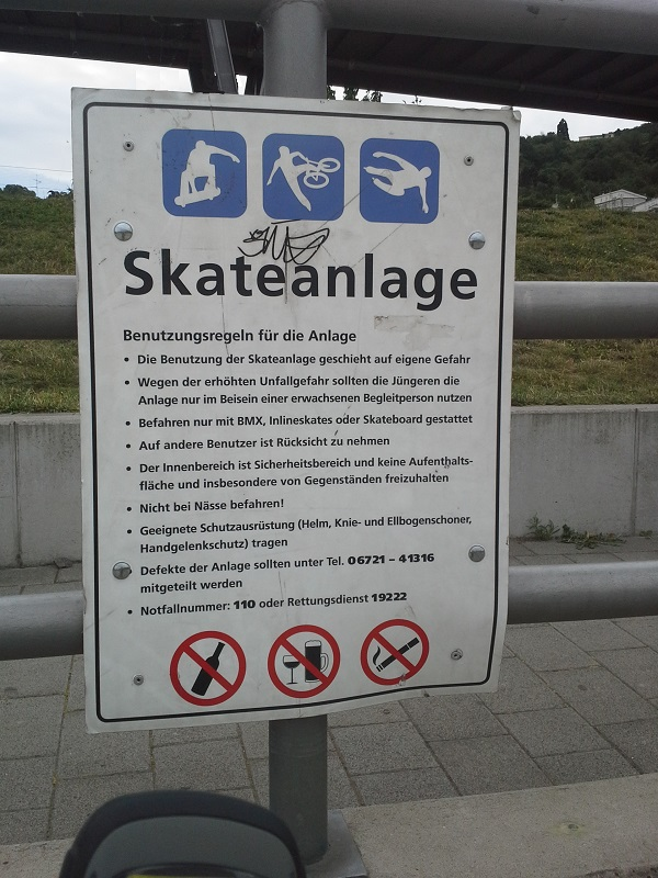 Skateanlage BIN 2