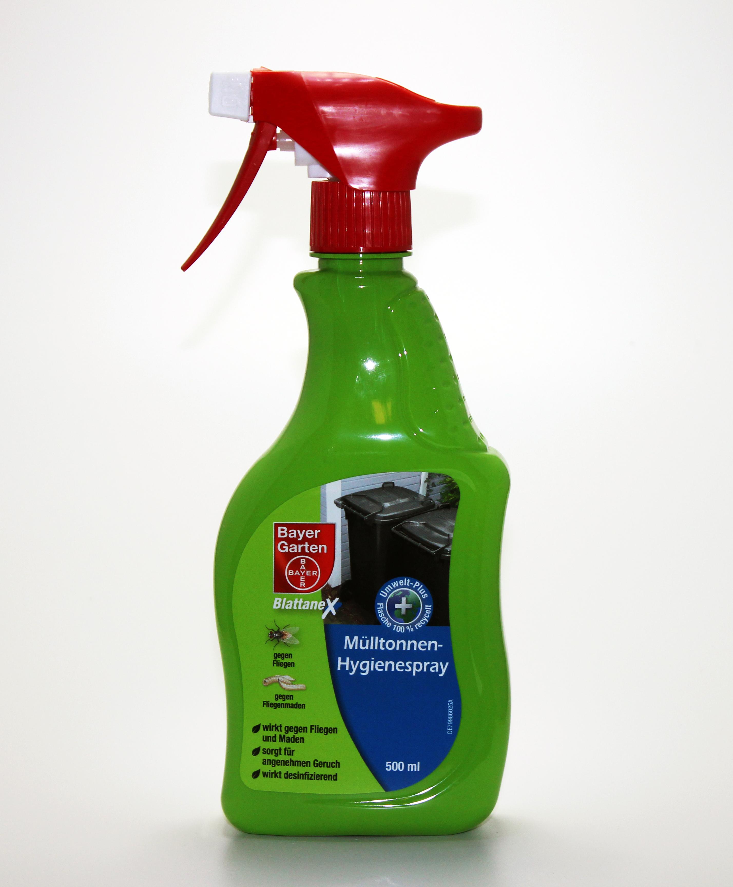 hygienespay m lltonnen abfallspray m lltonnenspray insektenspray 0 5 l ebay. Black Bedroom Furniture Sets. Home Design Ideas