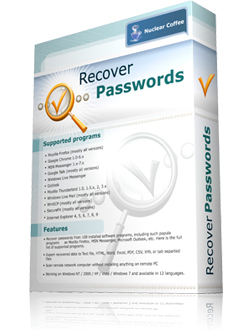 : Nuclear Coffee Recover Passwords v1.0.0.29