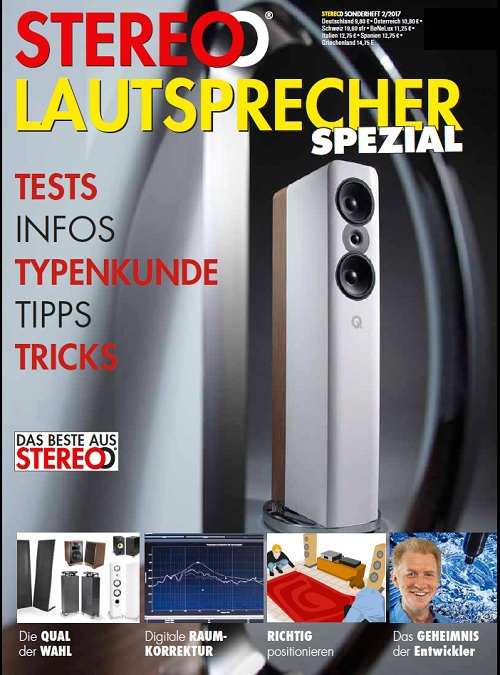 Stereo  Magazin Hifi Sonderheft Lautsprecher Spezial Ausgabe 2017