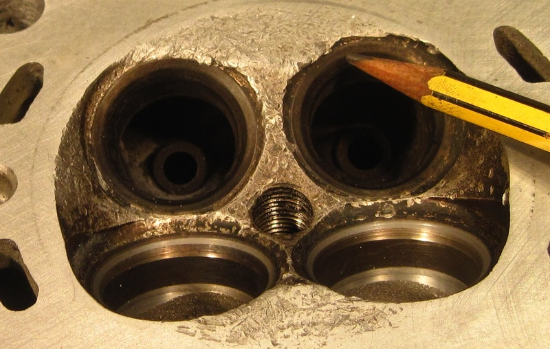 Zylinderkopf hin Motore2342zylinderkopl5kvo