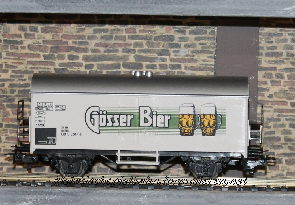 Märklin # 4567 Gösser Bier Mrklingsserbierjylx4