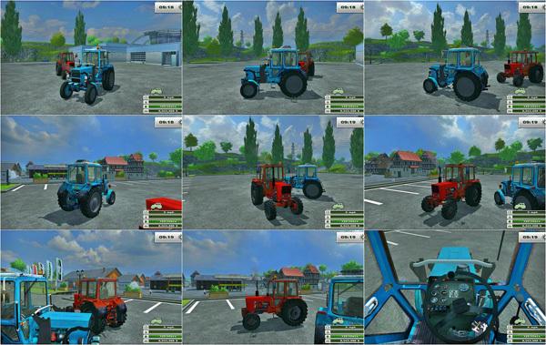 Mtz Tractors Pack