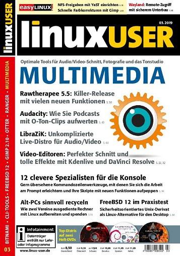 LinuxUser Magazin März No 03 2019