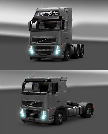 Volvo valot sekä kuraläpät Mudflap-lightso3q25