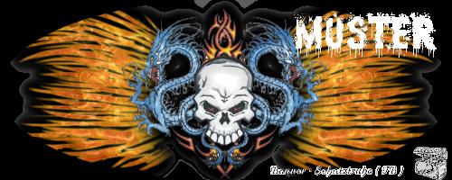 Fantasy - und Mysticbanner Musterbannergrusel1fetasn0