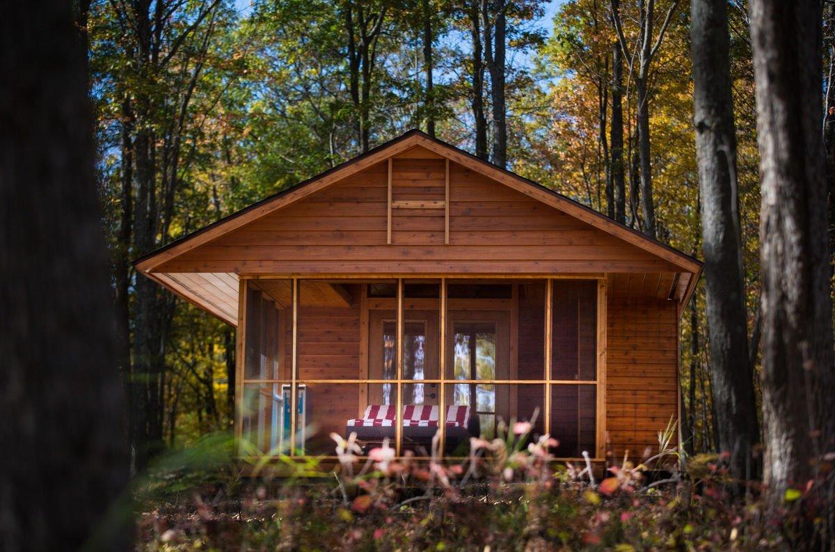 Domek w lesie 10