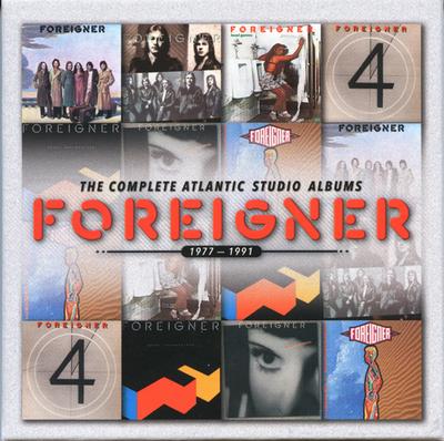 Foreigner - The Complete Atlantic Studio Albums 1977 - 1991 [7CD Box Set] (2014)
