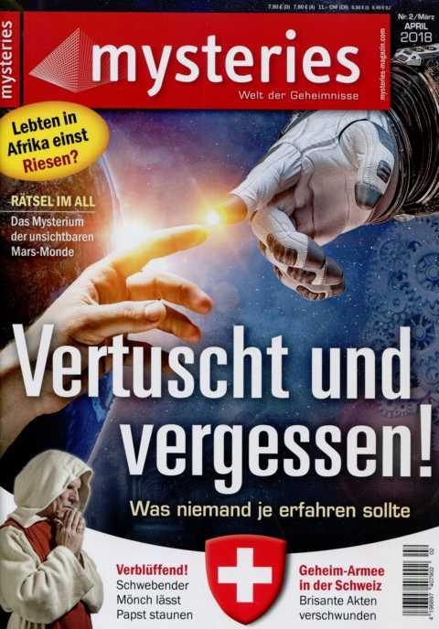 Mysteries - Welt der Geheimnisse - Heft Nr. 2, März, April (2018, 70 S., Scan-Text)